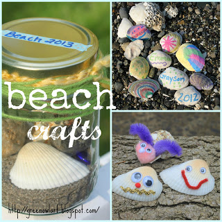 decorate beach shells