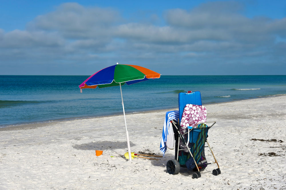 Do It Yourself Beach Cart for Those On a Budget
